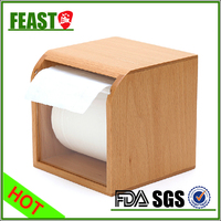 New style fashion wooden tissue box holder