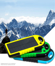 Waterproof Solar power bank for wholesale