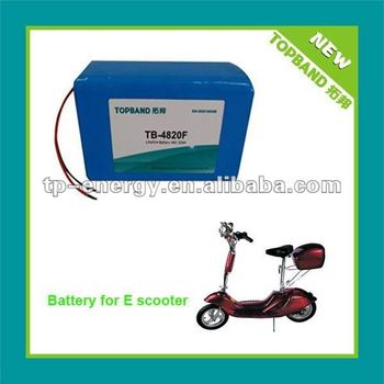 48V20Ah Motorcycle Battery Pack with PCM Protection manufacturer