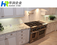 White Galaxy Granite Kitchen Countertop Pictures