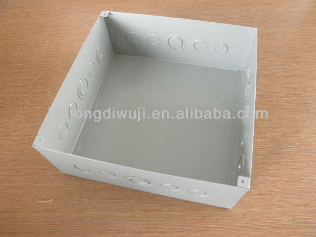 Galvanized steel electrical large metal box with spraying for Saudia Market