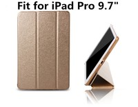 Real Device Test Auto Wake Up Sleep Ultrathin PU Case Smart Leather Case For iPad pro 9.7