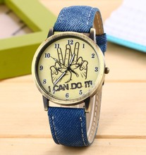 Longbo vogue top brand name travel watch case unisex watches printing dial