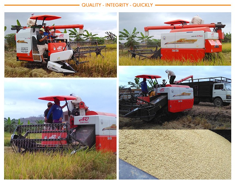 hot selling rice harvester combine