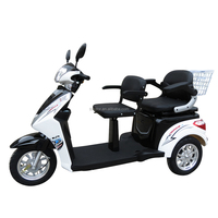eec 2 seat mobility scooter for adult electric tricycle