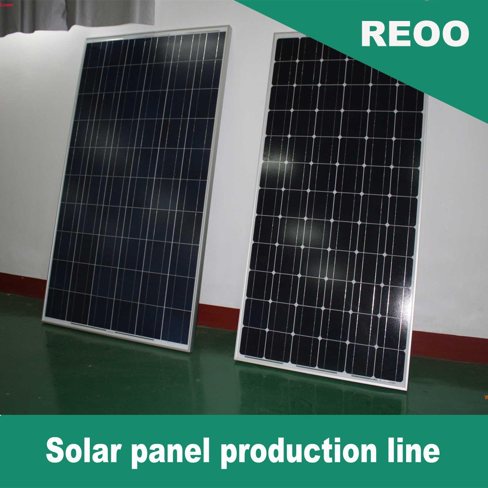 REOO New Mono Poly Solar Panel High Quality Lower Investment solar cells
