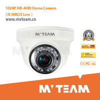 China supplier HD 1024P AHD cctv dvr indoor vandal-proof dome security camera