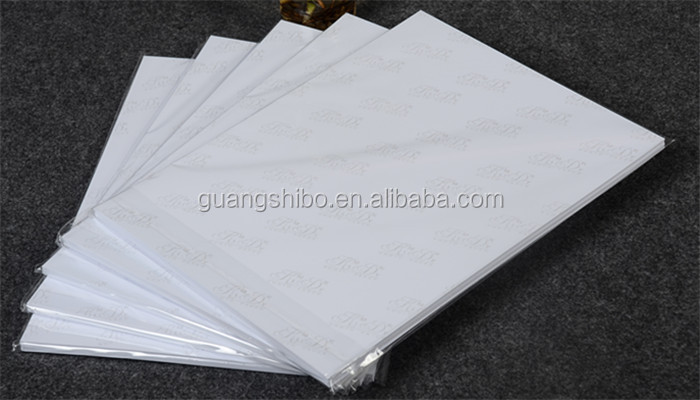 Guangdong 200gsm A4 glossy inkjet photo paper(GSBGPP98)