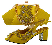 KB8444-6 Italian shoes and bags to match women/african shoes and bags to match