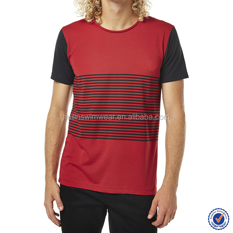 New design men's regular fit classic regular fit crew neckline t-shirts