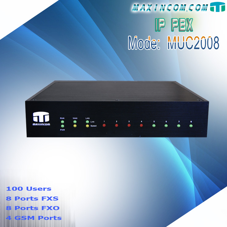 gsm pbx system/intercom pabx/embedded pbx asterisk