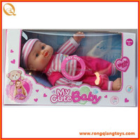 12 Inch baby doll soft vinyl doll with IC (cry and laugh) DO5741662A1