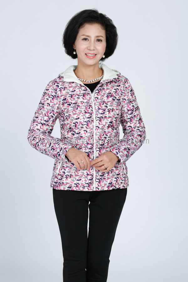 woman winter clothing down jackets OEM