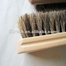 Horse Hair wooden cleaning shoes brush