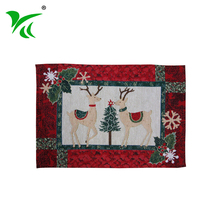 Eco-friendly custom tapestry woven table placemat