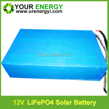 high power lifepo4 12v 200ah battery pack low self-discharge oem service deep cycle battery