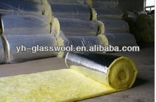 16kg/m3 fiberglass wool duct and pipe insulation materials