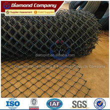 PVC coated chain link fence / (CE,ISO CERTIFICATED) Chain Link fence/ Wire mesh