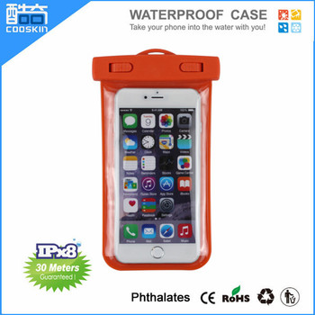 Ipx8 New arrival PVC waterproof phone case
