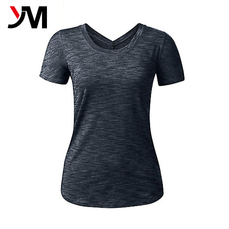 Compressed Yoga Wear Dry Fit YogaTops Custom Made Sports Tank Tops For Women
