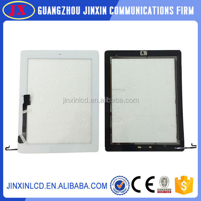 "> 3"" lcd display touch screen for ipad 4 with full test"