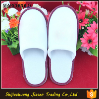 100 cotton waffle slipper 5 star hotel slippers