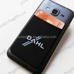 Phone Smart Wallet with Adhesive 3M Sticker for Promotional Gifts