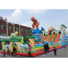 Brand new type customized climbing inflatable slide made in China