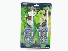 BEN10 cartoon toy walkie talkie educational toy