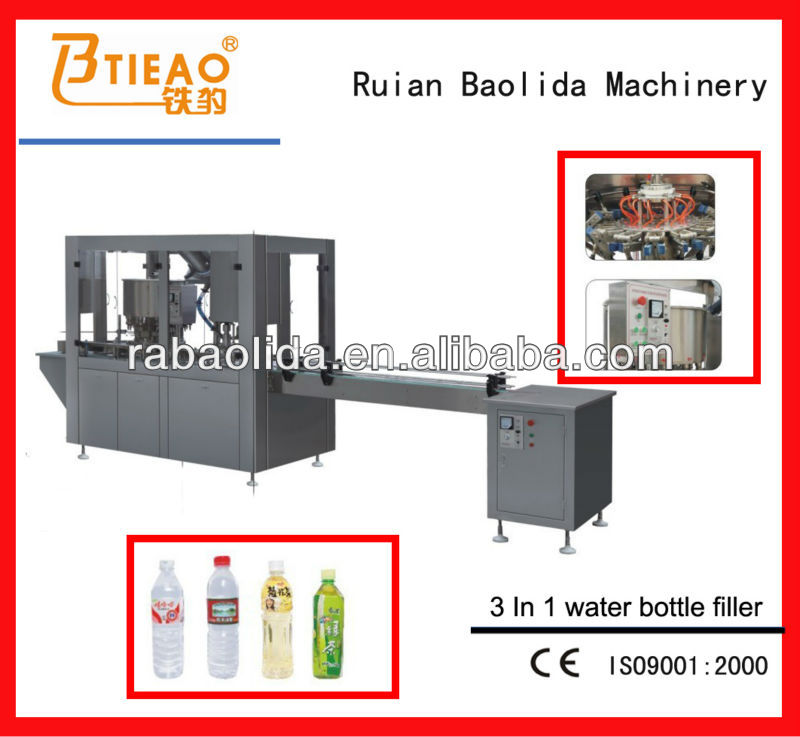 GFP12-12-1 Automatic Small Bottle Washing Filling Capping Machine