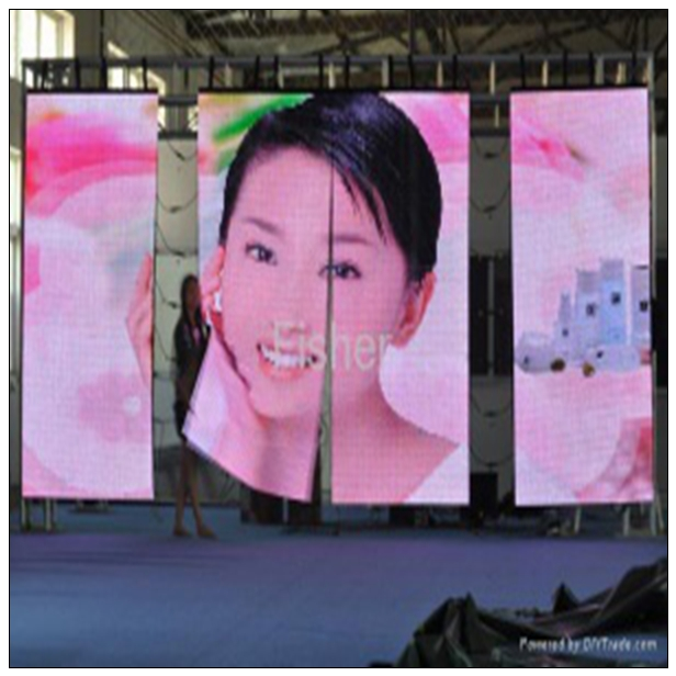 p5 to p20 soft video mesh stage backdrops star vision curtain flexible outdoor curved led large screen display