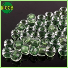 Always hot sale wholesale large hole plastic crystal beads in bulk