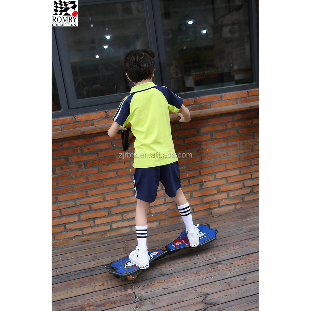 Boy's T-Shirt Wholesale School Uniform Philippines Korean School Girls Uniform Pictures