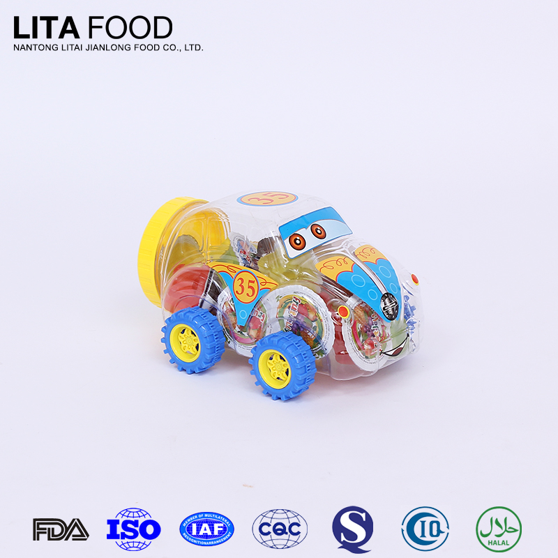 Hot Sale New fruit jelly car toy