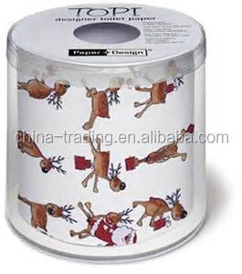 Hot Sale Christmas Print Toilet Paper