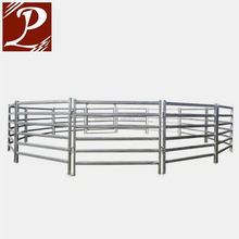 Australia Standard Round Pipe Steel Cattle Yard Panels