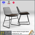 modern design dining steel chair