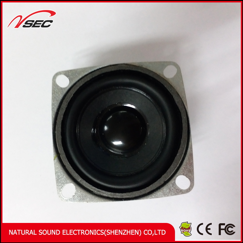 Round shape 53mm 3 w new high quality audio speakers for Multimedia sound box