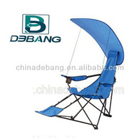 Folding Canopy Camping Chair With Footrest