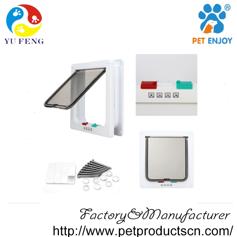 Automatic Pet Door Kit For Cats And Small Dogs