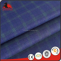 polyester rayon spandex woven check fabric school uniform pants polyester viscose spandex fabric