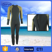 Custom Design Long Sleeve Wetsuits Neoprene Diving Suit With Best Quality