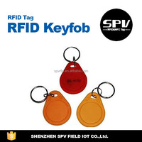 QR Code Print ISO11784/11785 EM4200 125/134.2KHz LF Keychain/Keyfob for Tickets/Coupon/Voucher Control