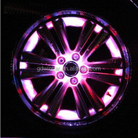 2015 Best Selling Flashing LED Car Wheel Light For All Car Beautiful, Attractive Light at night, Safe Wheel Car Light