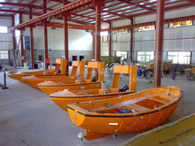 SOLAS 5.5 meter used open lifeboat for sale