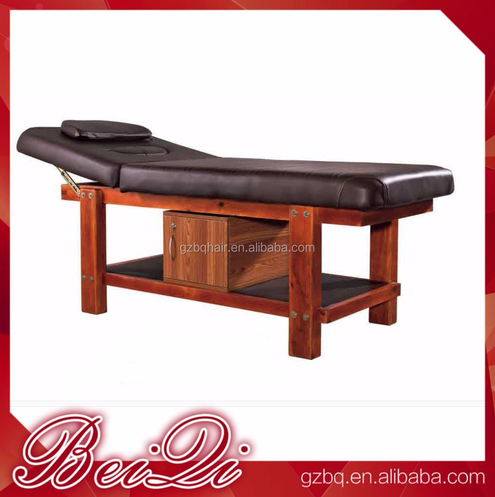 Beauty Salon Facial Bed Massage Table Parts Folding and Portable Sex Massage Table Massageliege