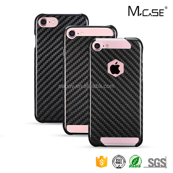 Mcase 100% Real Carbon Fibre Mobile Phone Cover, For Apple iPhone 7 Carbon Fiber Case
