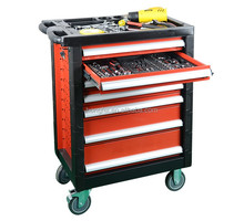 27 Inch Mobile Steel Roller Tool Box With Tools