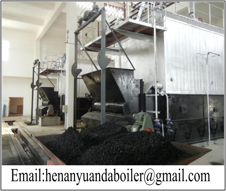 DZL Single- drum coal / Biomass fired hot water boilers