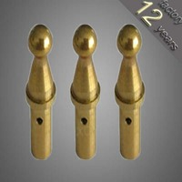 micro/mini brass cardan long worm machinery shafts for medical use